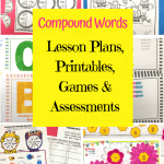 Compound Word Printables For second grade