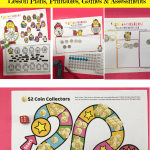 Activities & Math Games For counting money product images