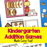 Math Center Addition Games product image